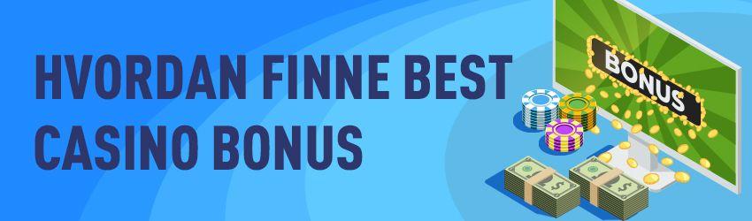 Beste Norge online casino bonuser