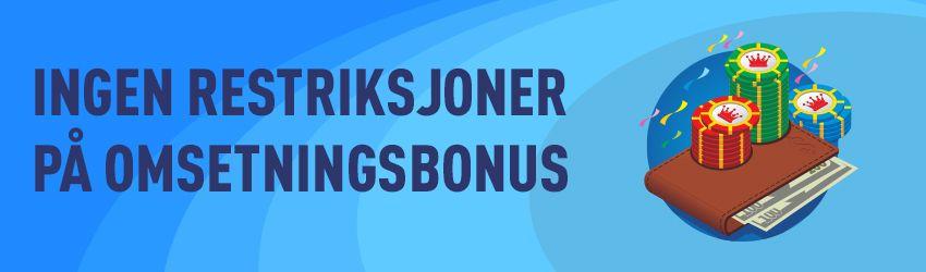 bonuser uten omsetning-casinopannet.eu