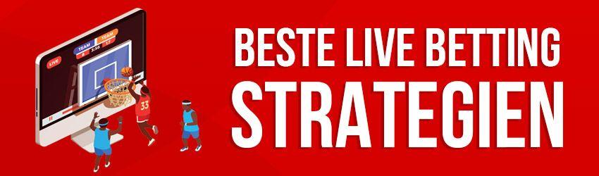 beste live betting strategian