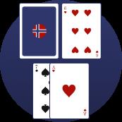 Blackjack - Doble innsatsen