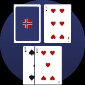 Blackjack - Ikke velg split med et par av 5 eller 10