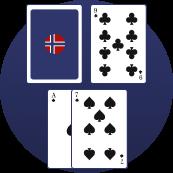 Blackjack - Trekk ved ess-7