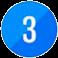Number3-ikon