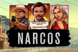 Narcos spilleautomat på nett av NetEnt